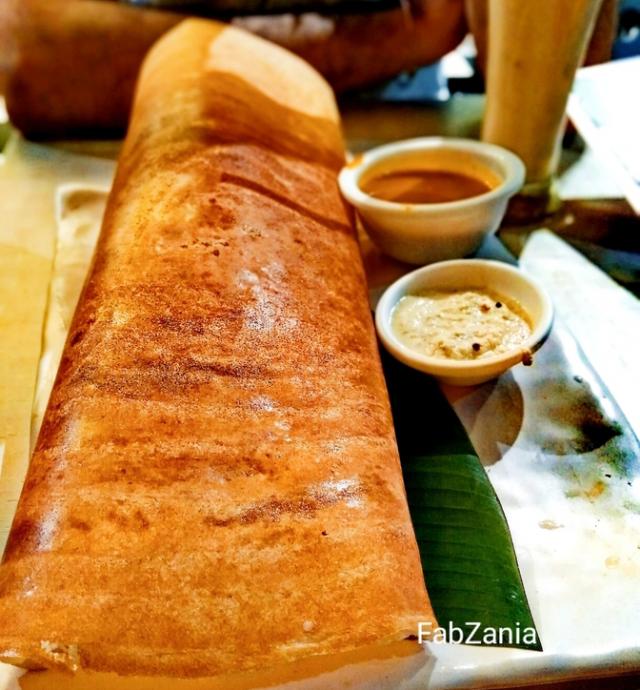 masala dosa, mumbai street food