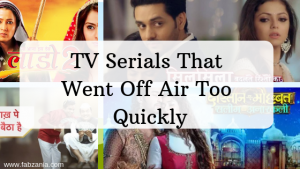 tv serials that went off air