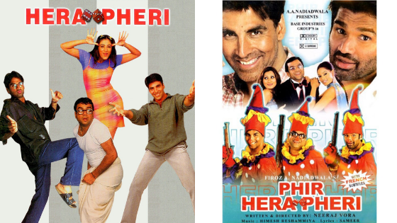 hera pheri sequel, hit and flop movies