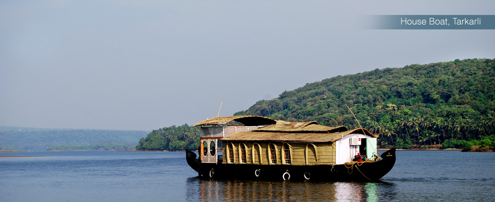 tarkarli beach, tarkarli beach houseboat