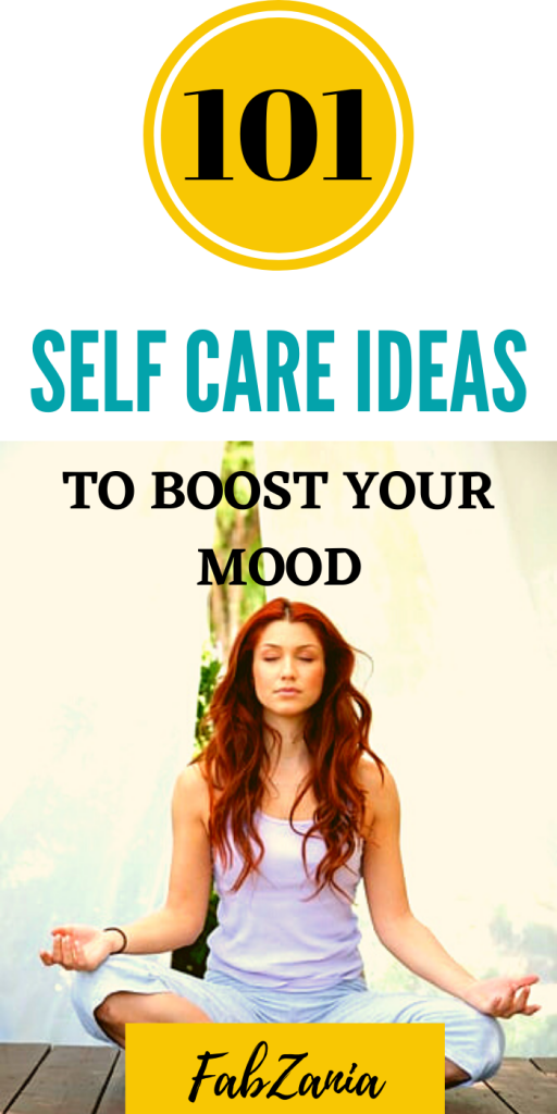 self care ideas at home